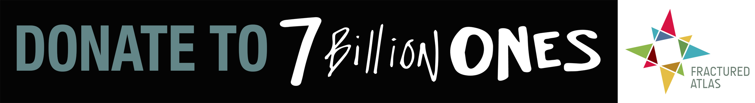 7 Billion Ones Donate Button