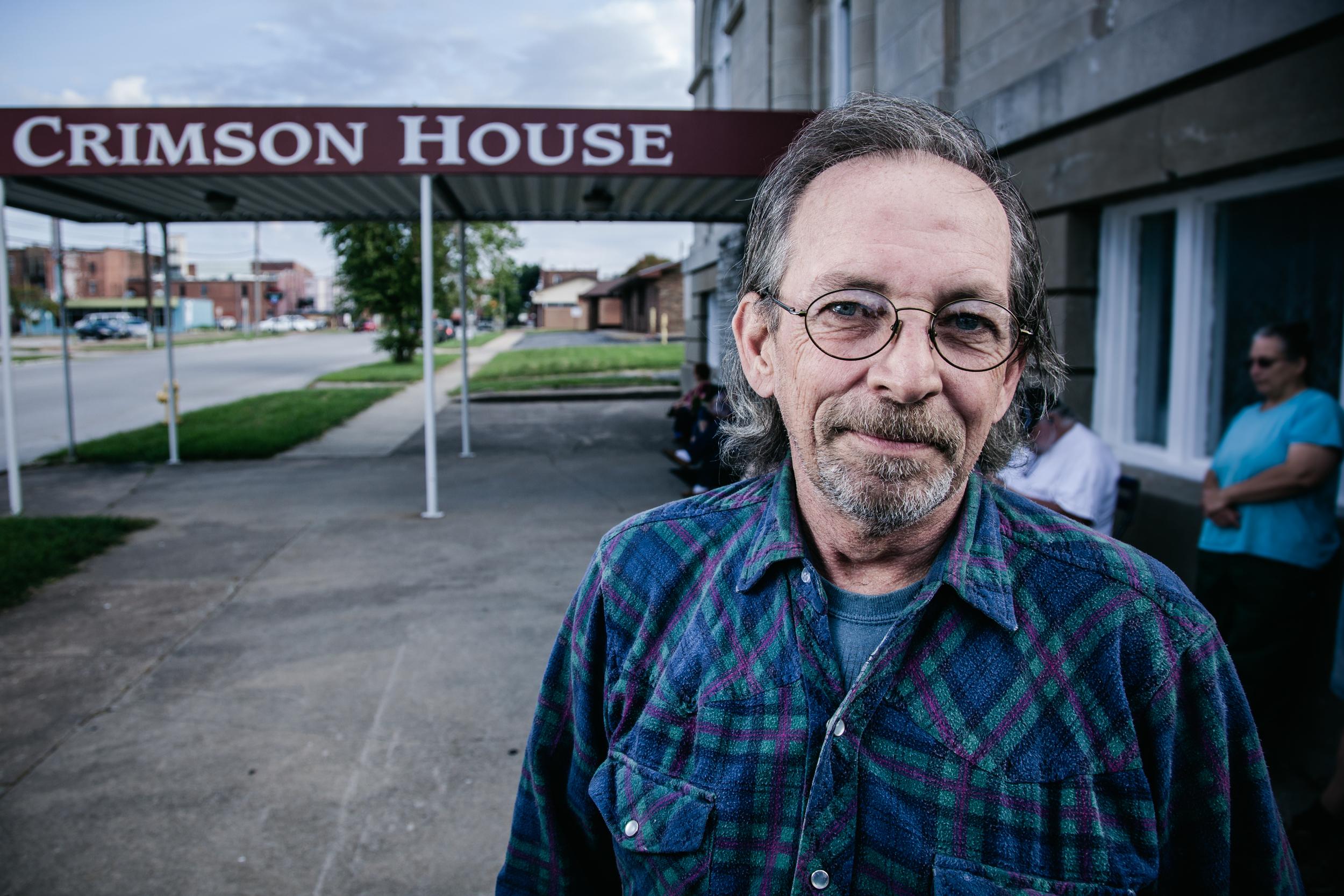 homeless depression hunger Crimson House