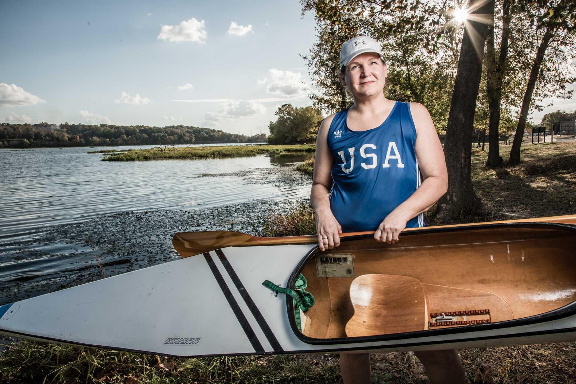 cancer survivor olympics kayak