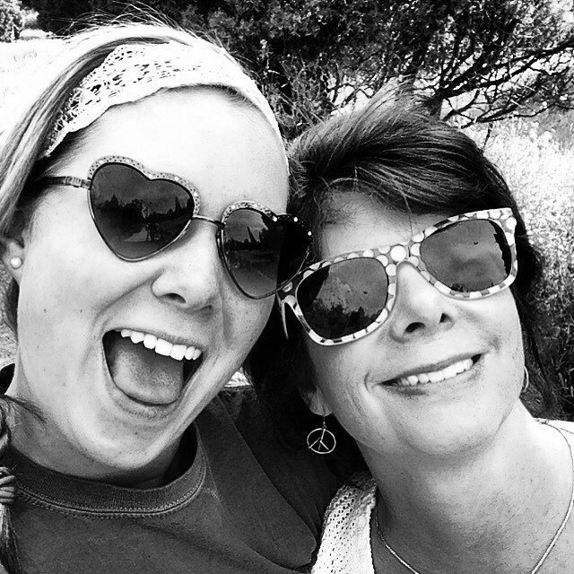 Olivia and her mother, Becky - August 12, 2015