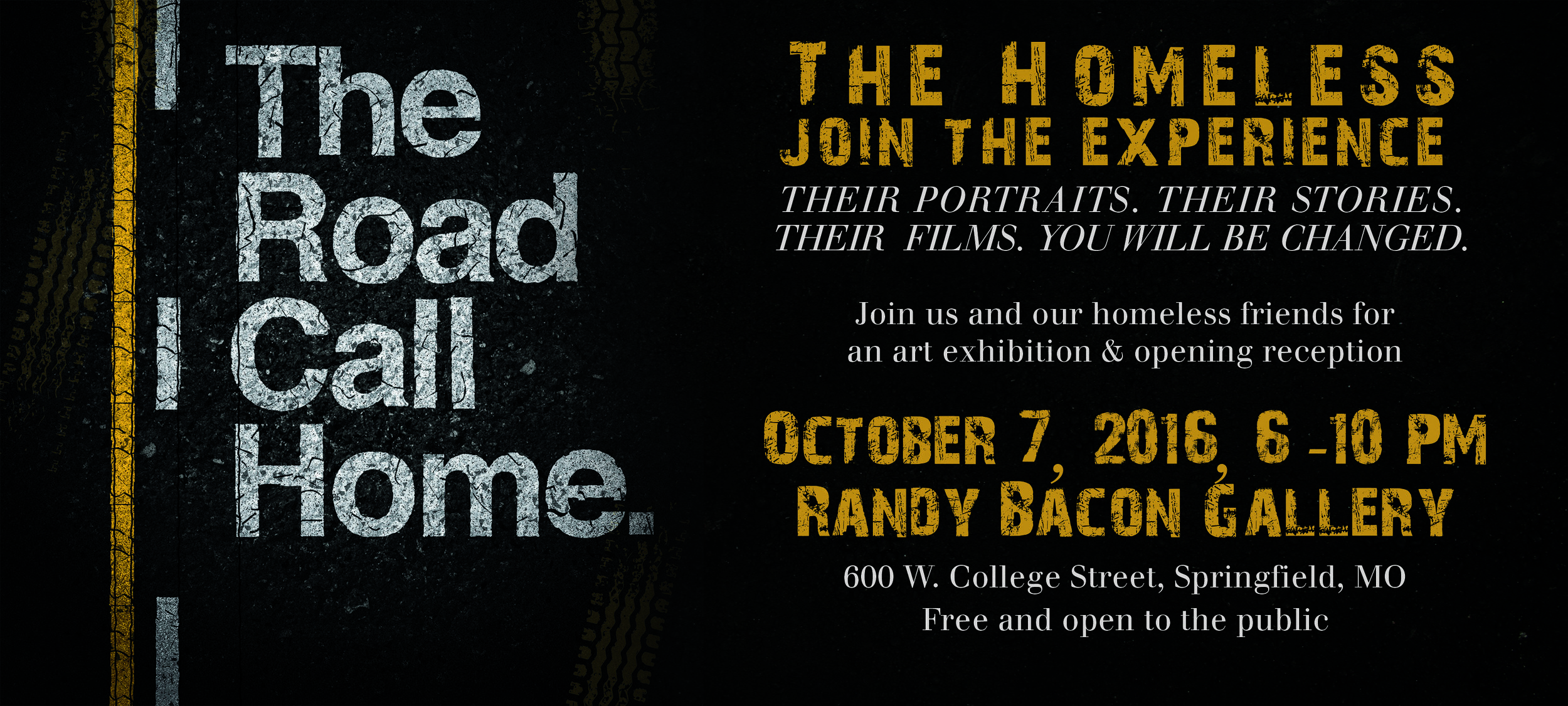 7 billion ones, the road i call home, randy bacon, gathering friends for the homeless, homeless, homelessness