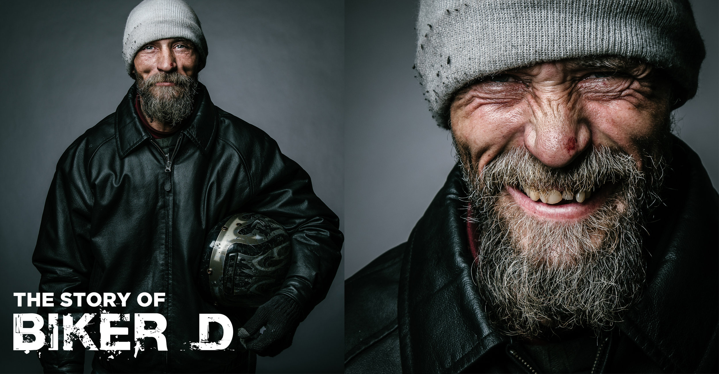 Biker D, 7 billion ones, the road i call home, randy bacon, homeless, homelessness, gathering friends