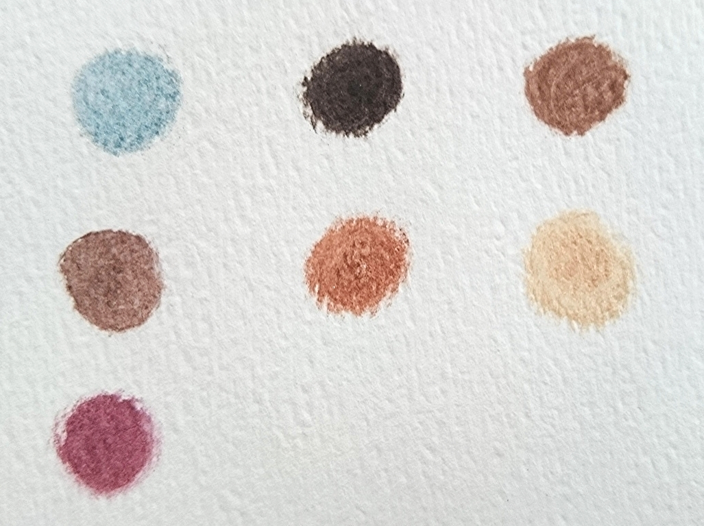 From left to right, beginning with top row: Inspire, Karma, Seduce, Magnetic, Solar, Lunar, Imagine.