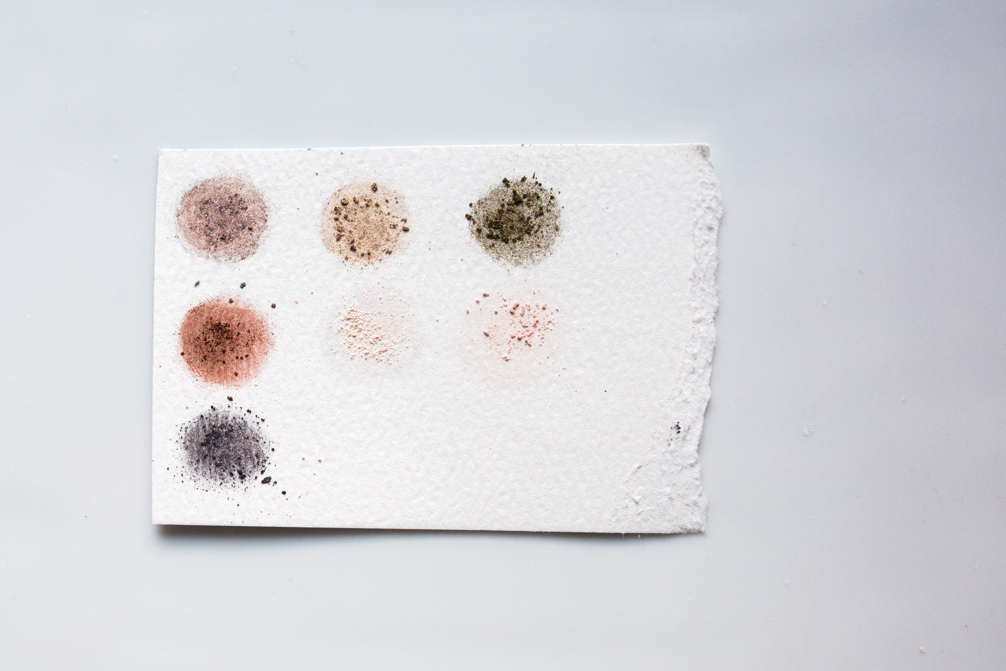 Swatches of Elitist Eye Shadows