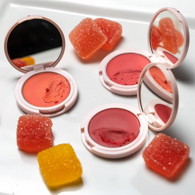 (Up on the blog!) Jillian Dempsey's cheek tints are brilliant. I was already a fan of her eye khols and lid tints, but was over the moon to discover her impeccably cool aesthetic was applied to (clean!) cream blushes.  The icing pink mirror compacts are super lightweight and portable. And unlike the goopy cream blushes we often see, these finger-friendly pigments veer on the drier side.