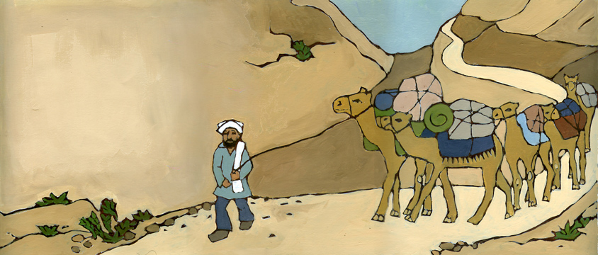 5 Camels in the Khyber Pass