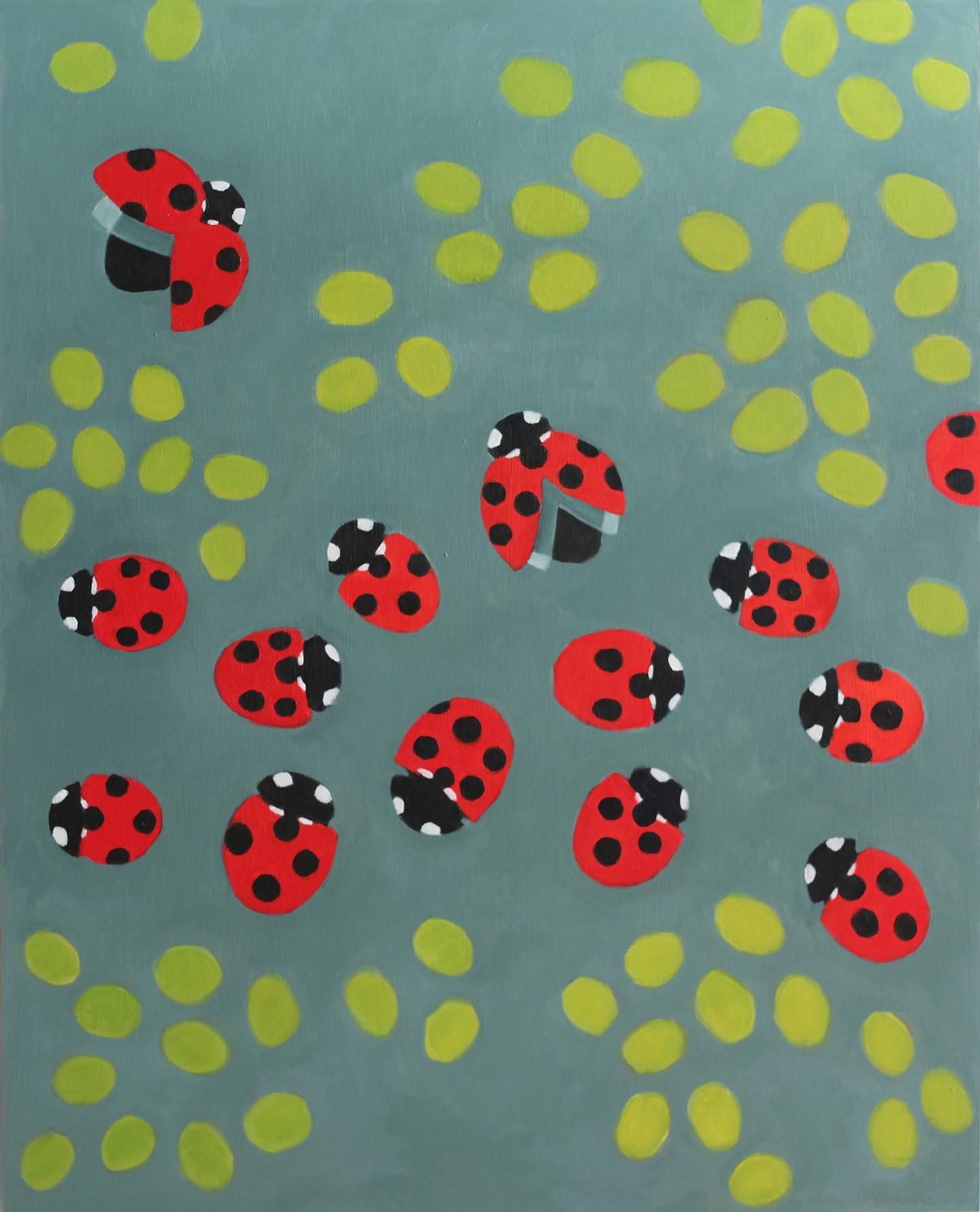 Ladybugs & Leaves