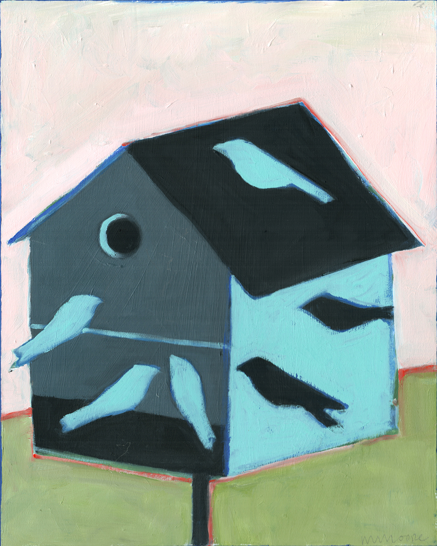Birdhouse for Swallows