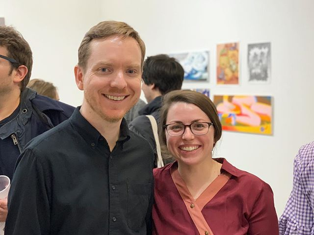 Thank you @hilaryldoyle and @reidhitt of @hrcurating for putting together such an awesome group show!