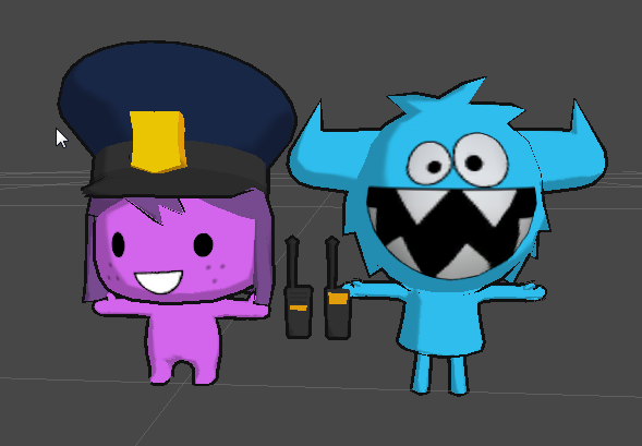 We made the 3D models for Creative Lab's game The Foos.
