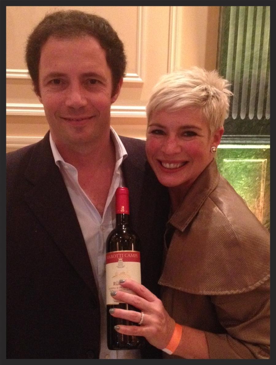Lorenzo Marotti Campi & Wife of Wine Man