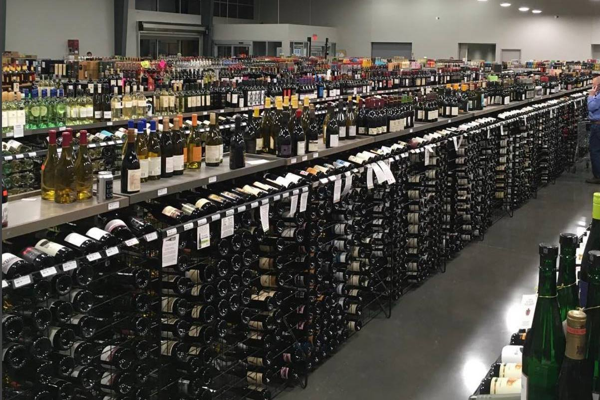 Parkhill's Warehouse - Wine Tasting for 12 People