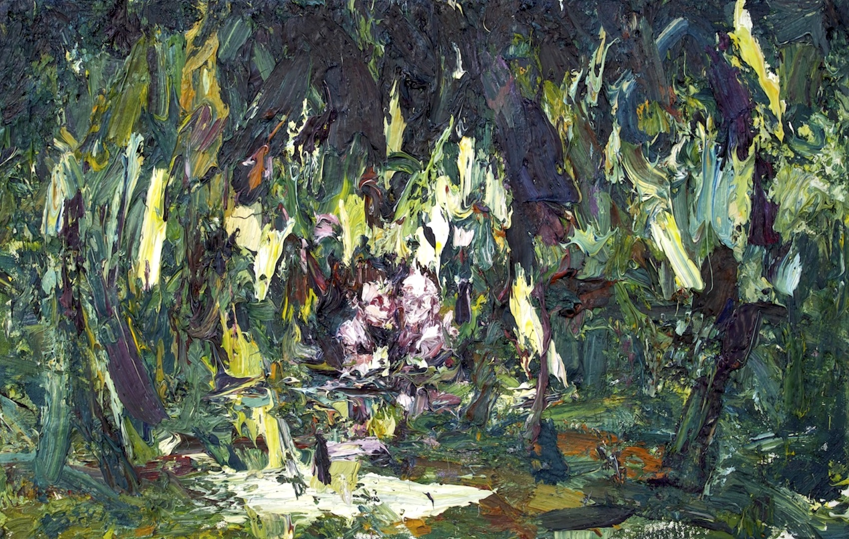 Figures in the Willows