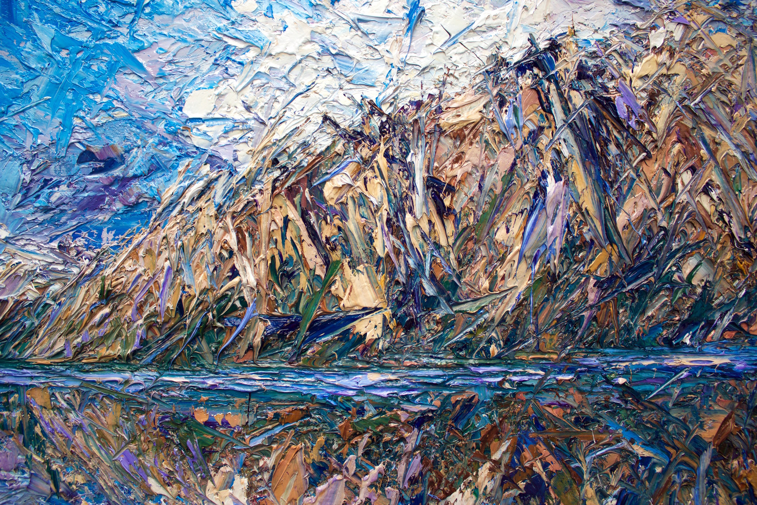 Detail: Lake Hawea, Central Otago