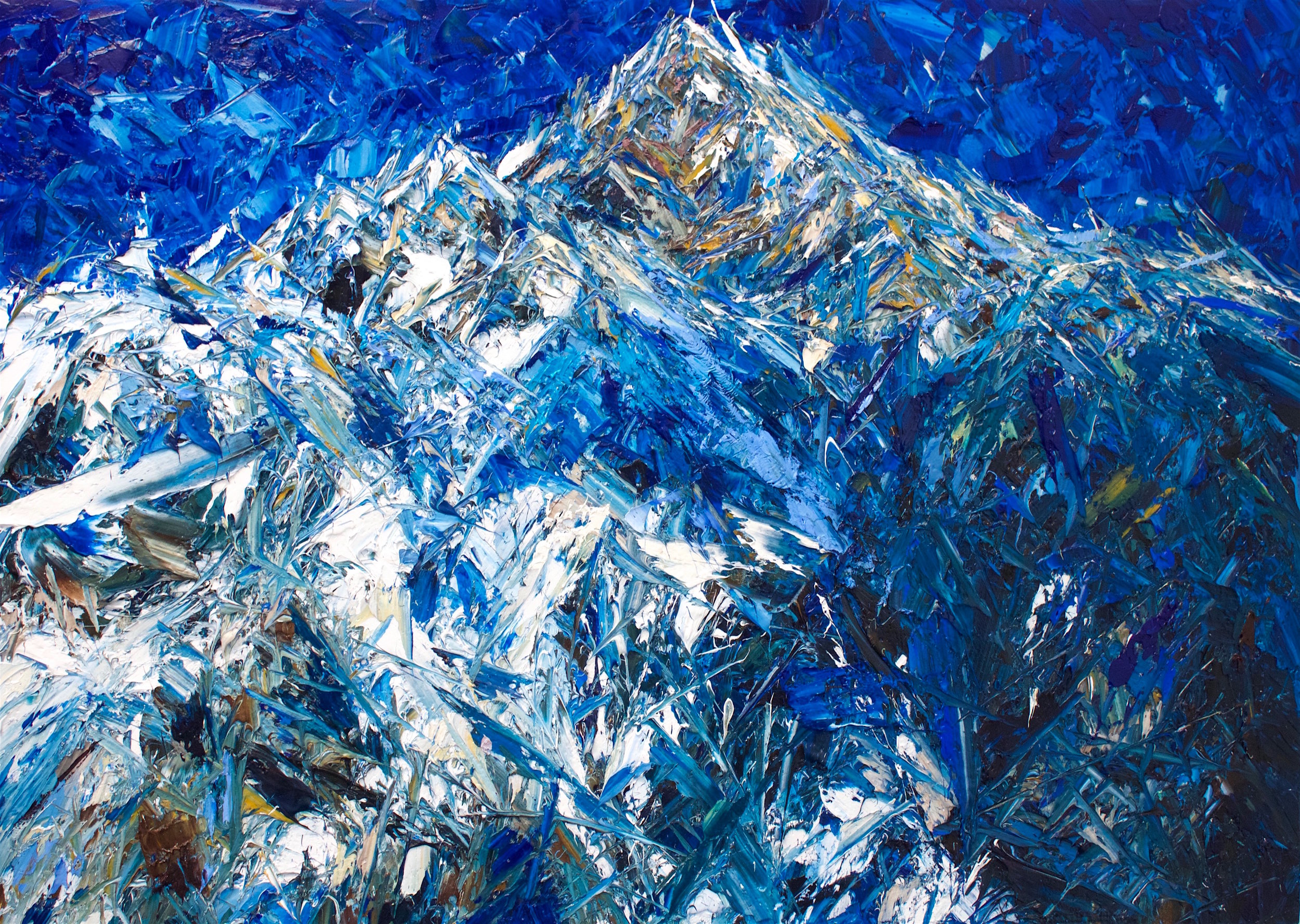 The Summit of Aoraki/Mt Cook