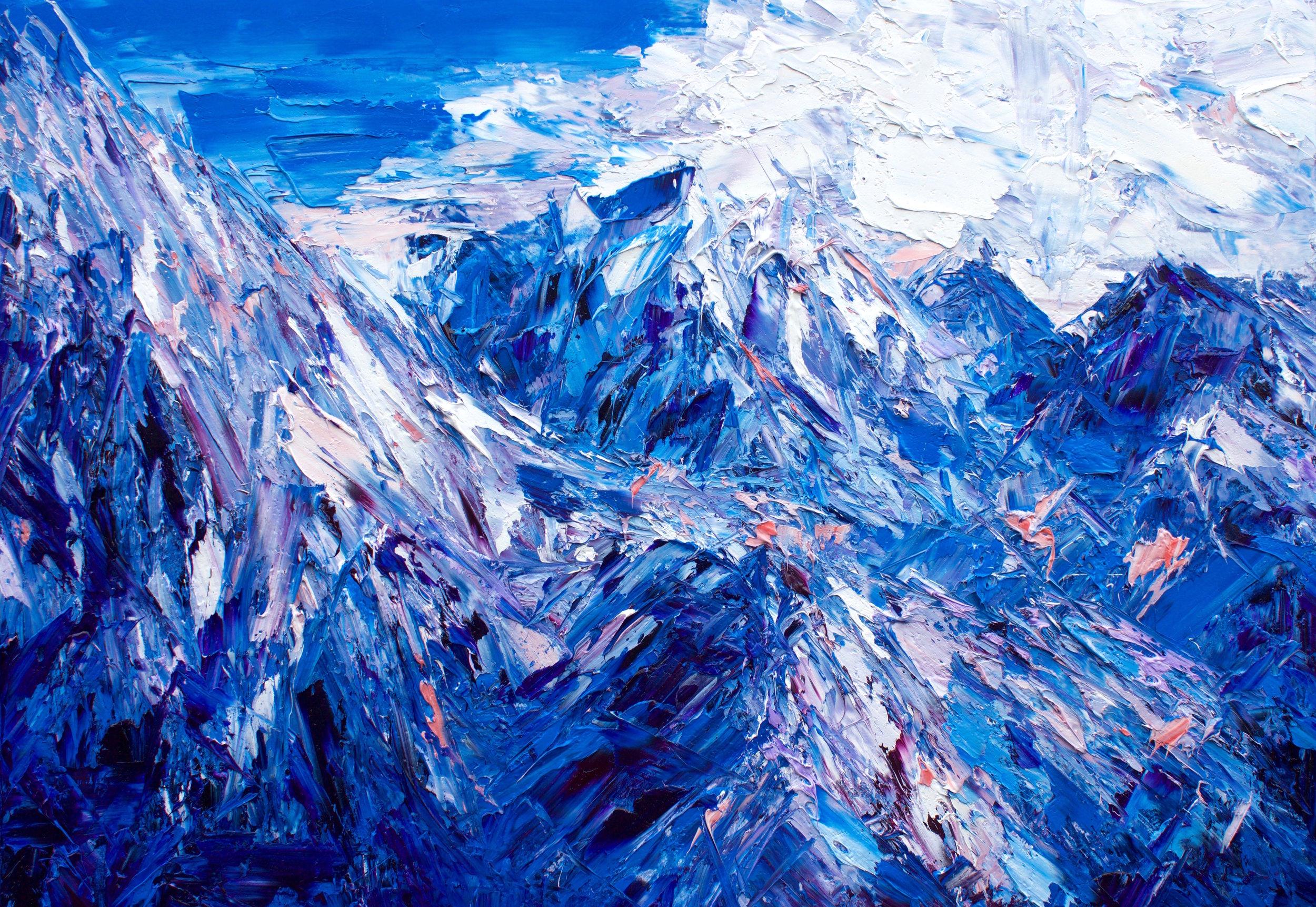 The Grand Plateau Of Mount Tasman