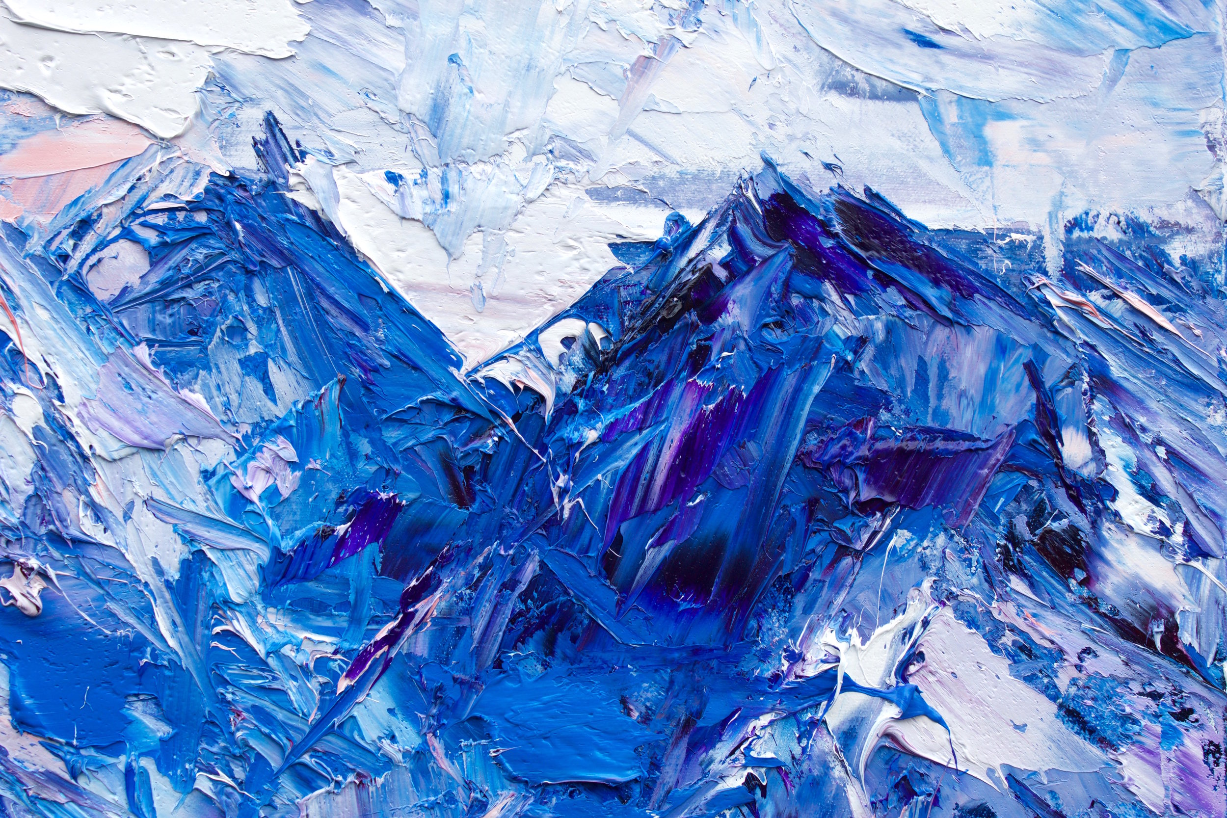 Detail: The Grand Plateau Of Mount Tasman