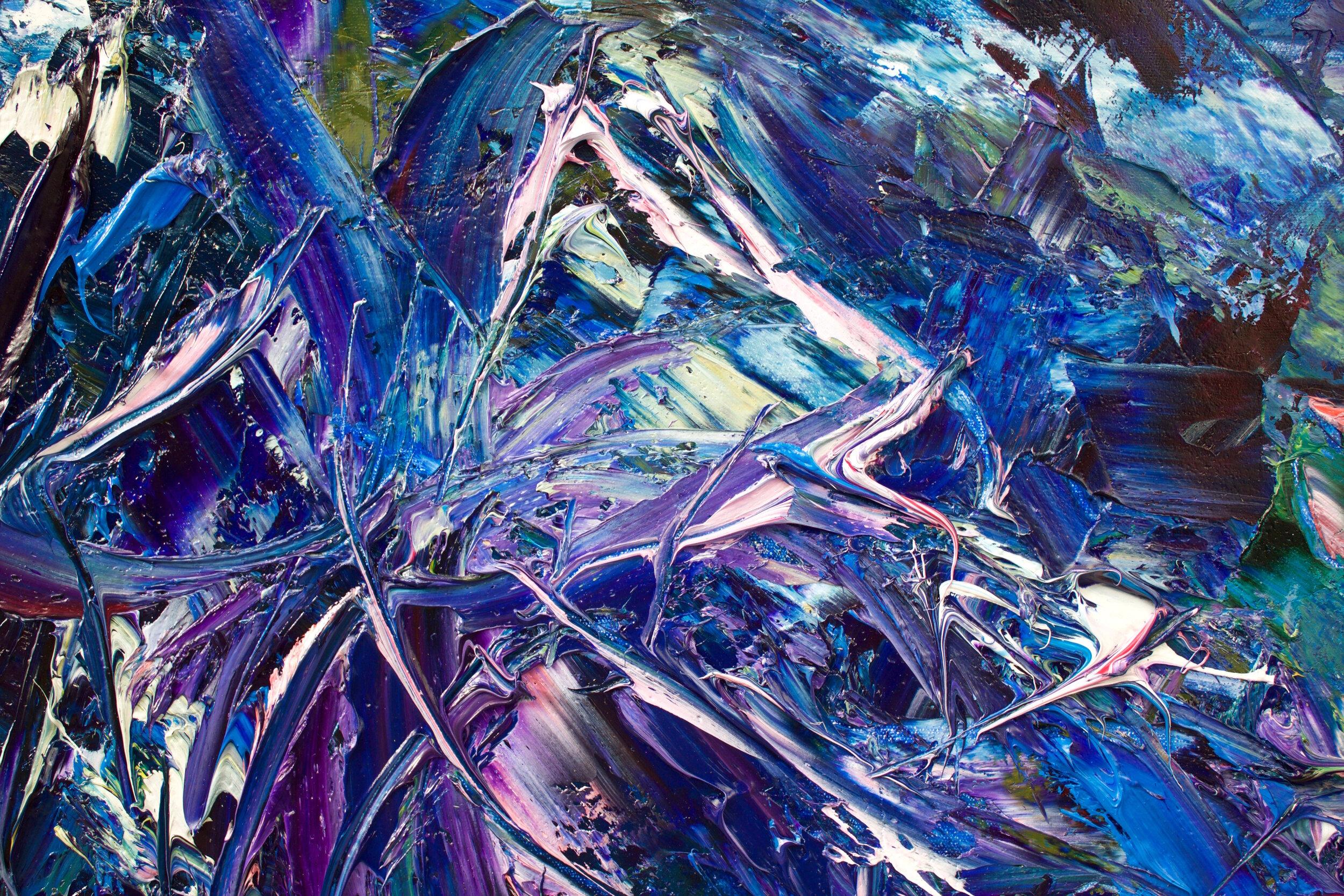 Detail: Blue Meadow