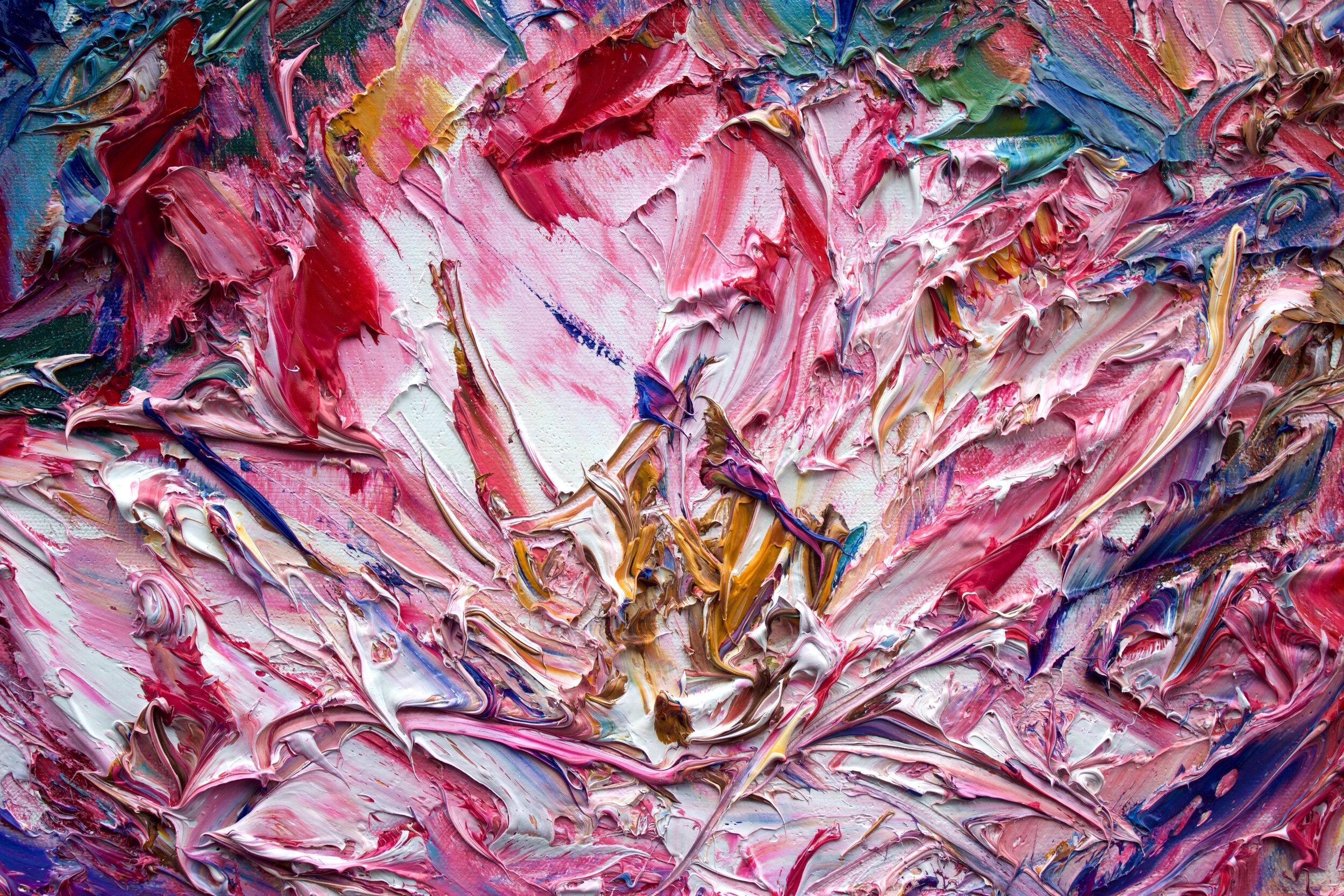 Detail: Flowering Rose