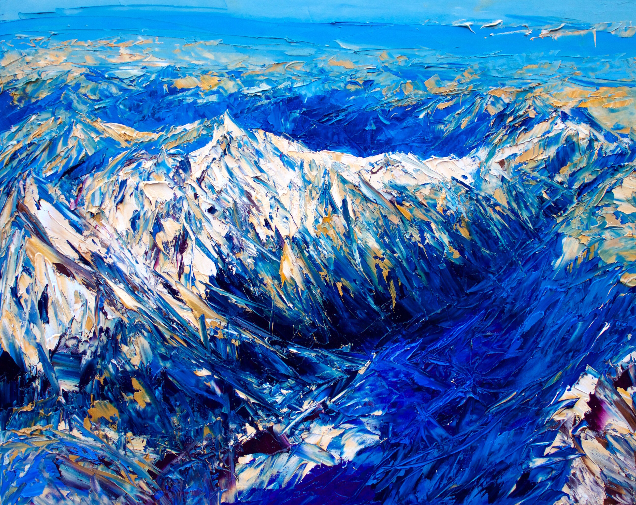 The Southern Alps From Above