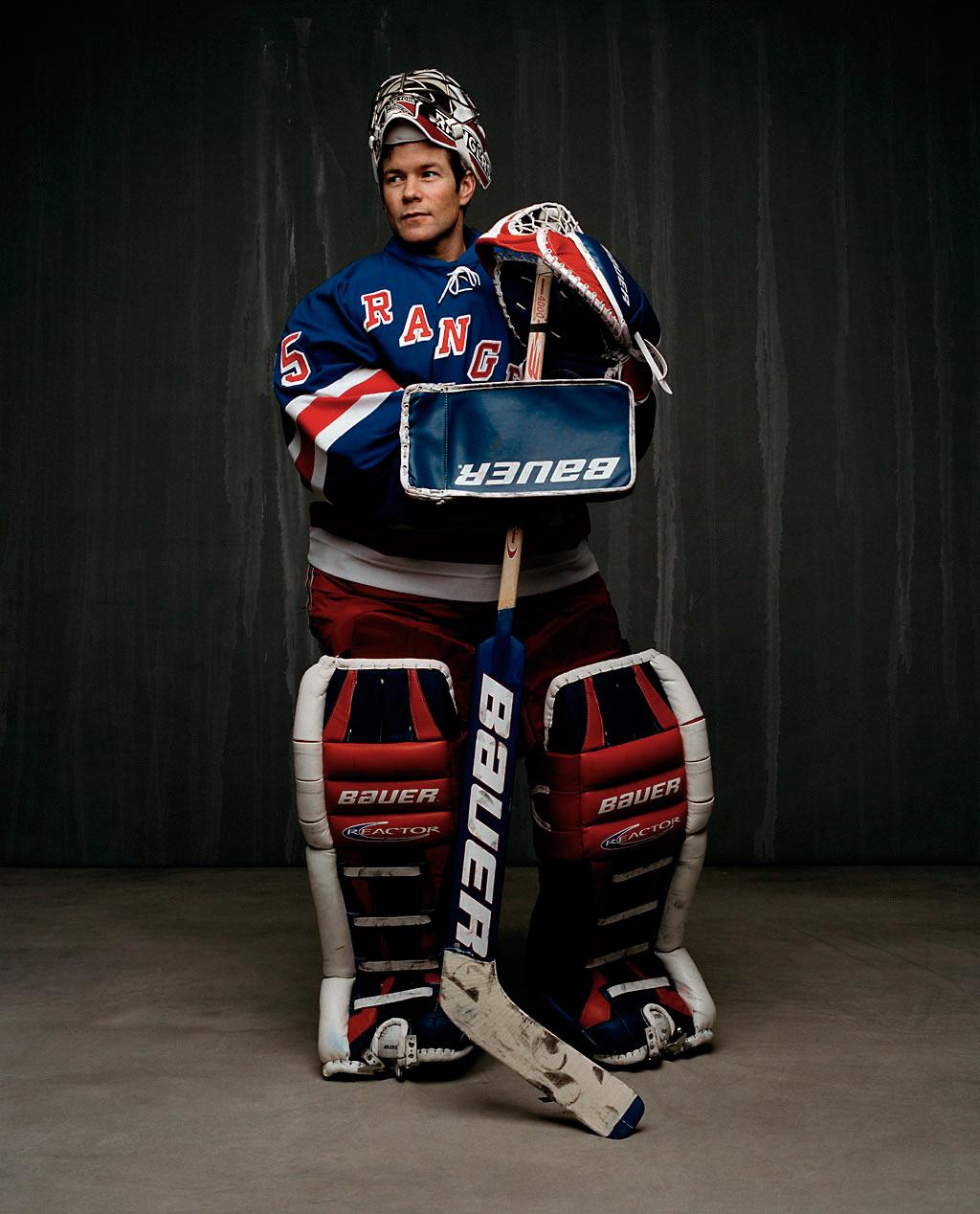 Goaltender Mike Richter 2000