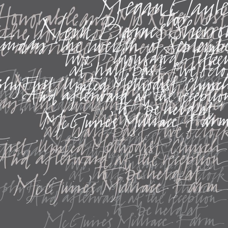 Calligraphy-Artwork-Wedding