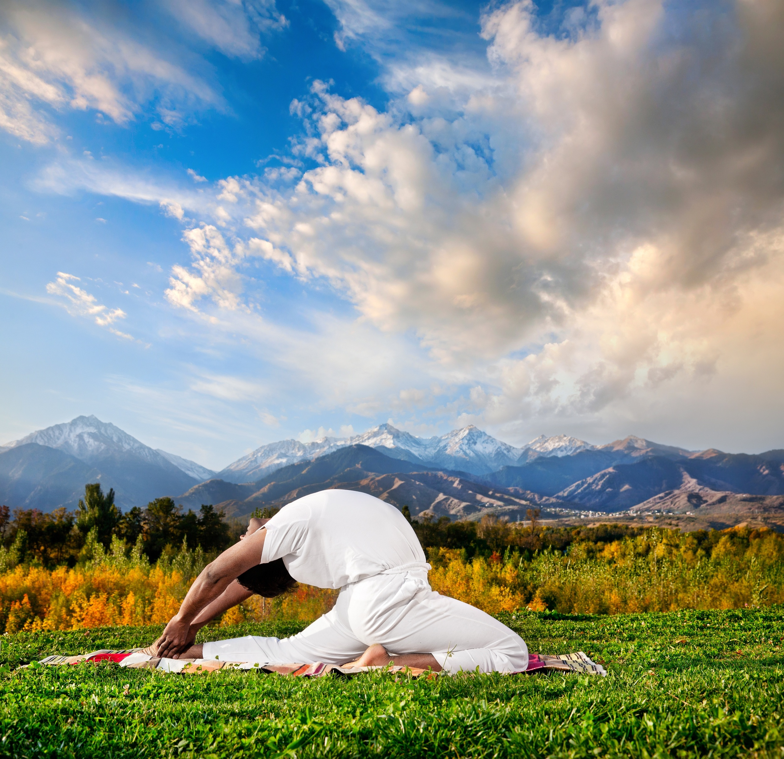 Virtual Yoga - Asana of the week 1