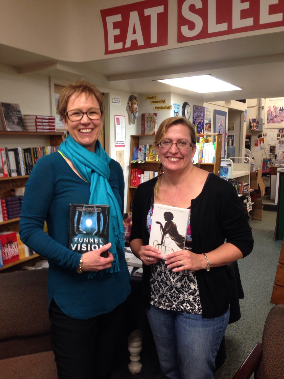 janet fox and me in missoula!