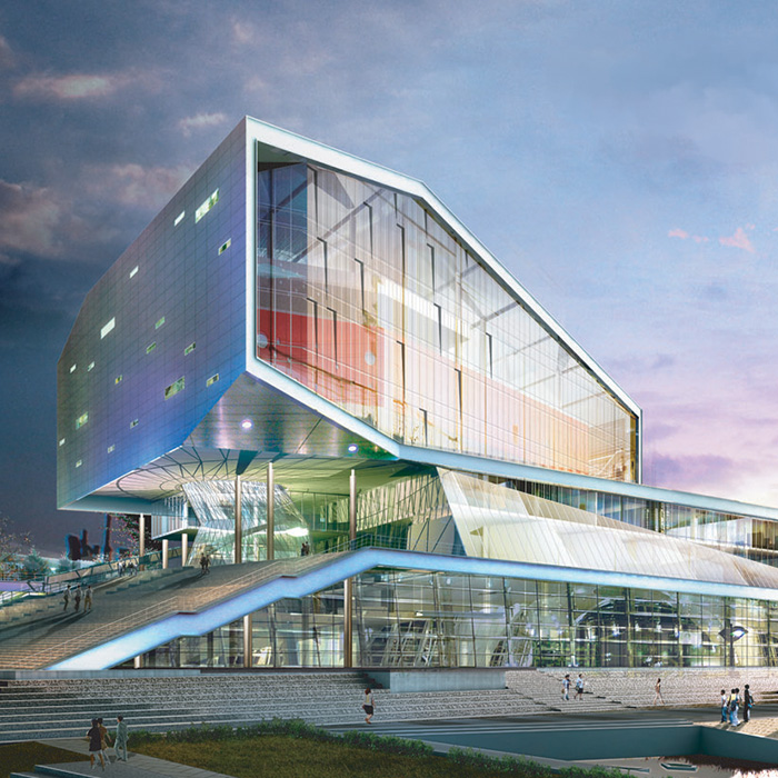 Jeonju Library Concept