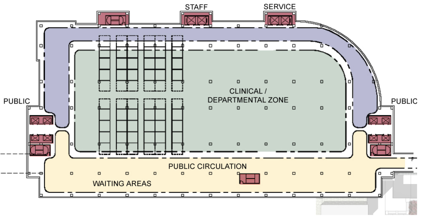 MD Anderson Cancer Center, Houston, TX | Floor Plans for Ambulatory Services