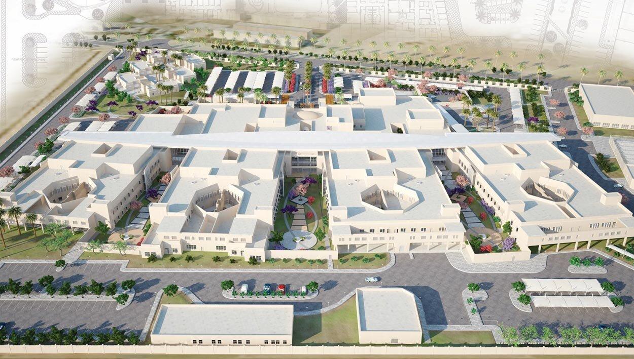 Al Amal 272-Bed Psychiatric Hospital | Dubai, UAE  constructed in 2017
