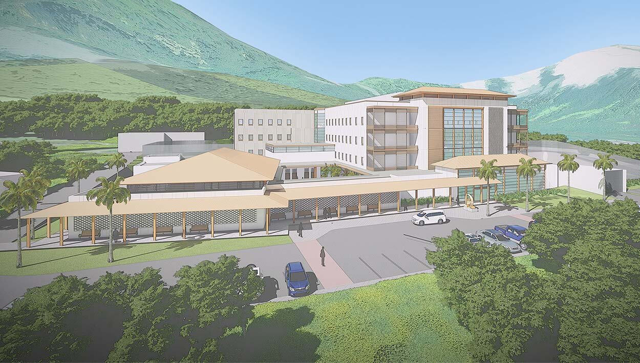 Hawaii State Hospital New 140-Bed facility | Kaneohe, HI  currently under construction, completion expected in 2021