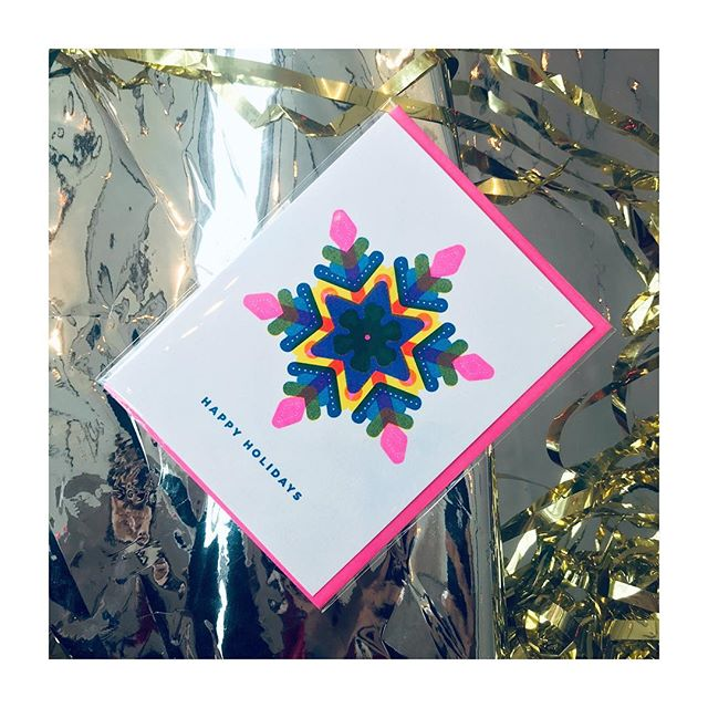 We're all little snowflakes in this together. ❄️ Get your boots on and go to @townthestore @takenotestore @crywolfclothing @spacingmagazine @evergreen_brick_works @antivicejuicery @goodluckgeneralstore @shoppennypost to get your holiday cards and other amazing gifts at these soulfully curated local shops. . . . #shoplocal #shoplocaltoronto #slyeyeca #slyeye #madeincanada #madeintoronto #risoprint #risocards #risograph