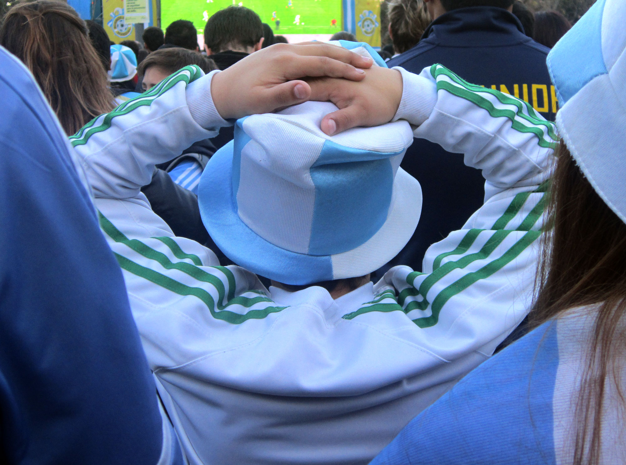But after Mario Gotze's winner in the 113th minute, a palpable sense of deflation swept across Buenos Aires