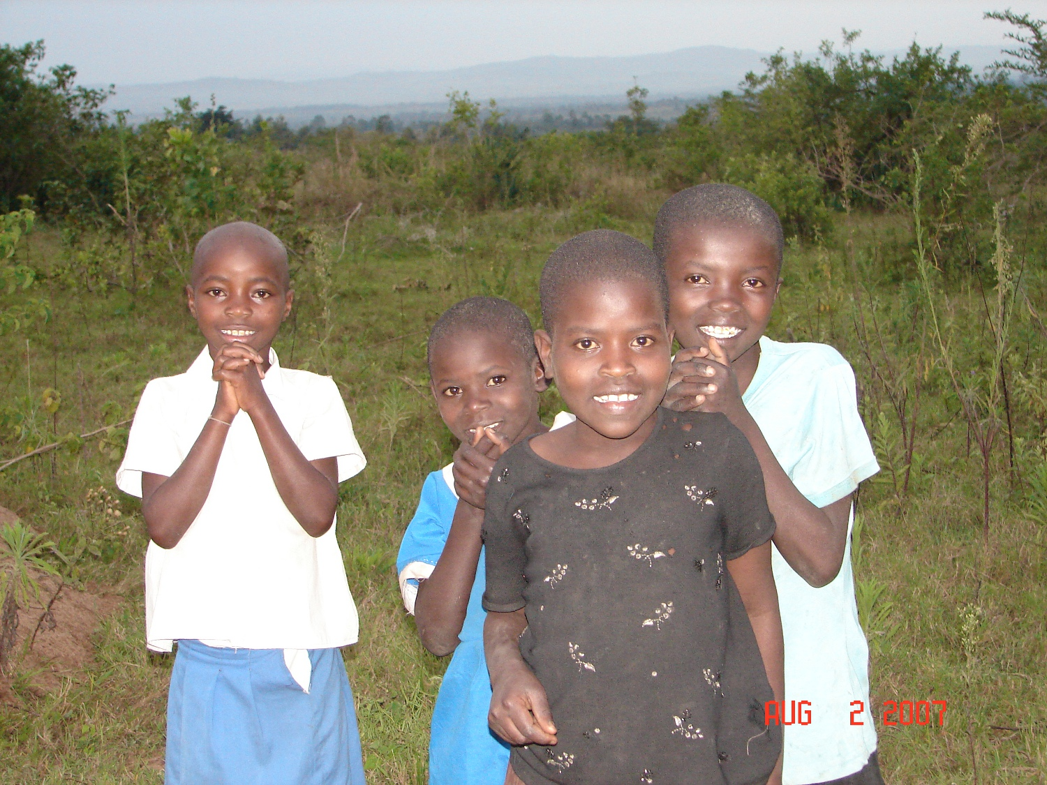 Big Smiles From Appreciative Orphans