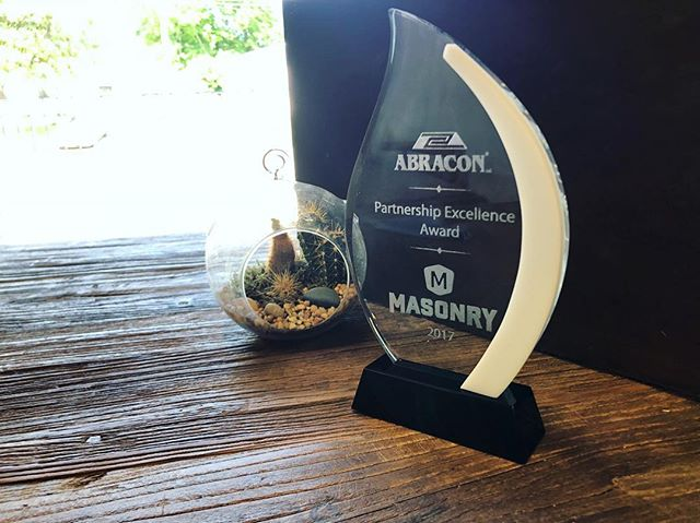 Winning awards, taking names. Our sweet client presented us with this gem this week, and we're so thankful to have topped their list. 🤜🤛 Thanks, guys!