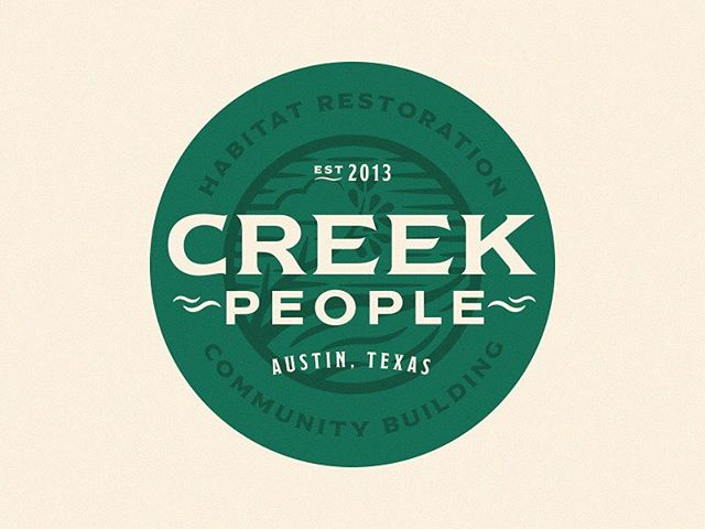 Creek People is a registered nonprofit dedicated to improving urban creek corridors within Austin city limits. We got to work on doing a little facelift for their brand, with more in the works later this year. If you want to know more about what they do for Austin parks, visitwww.creekpeople.org.