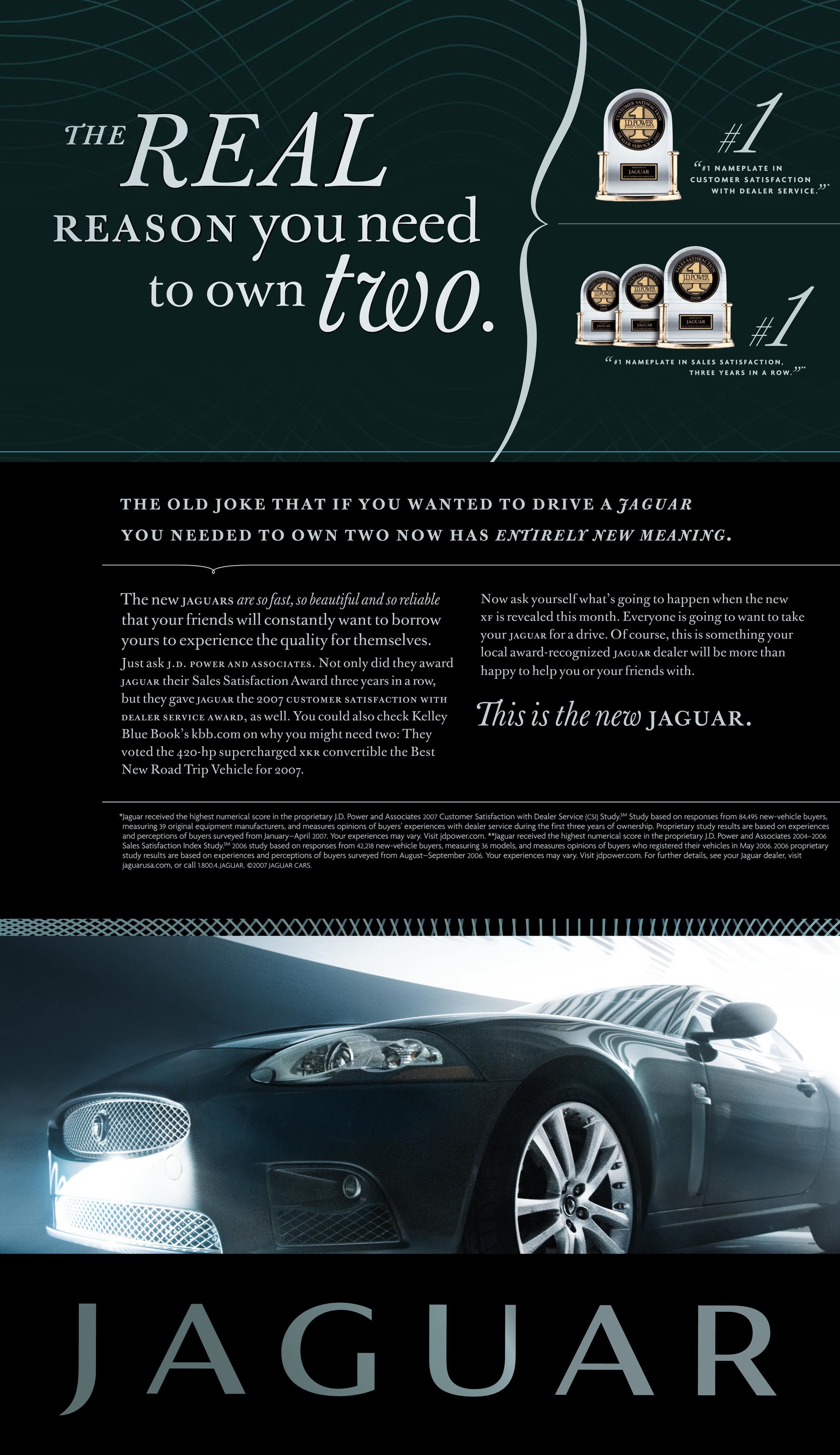 It takes a bold brandto confront its dark past as boldly as Jaguar did in this case.