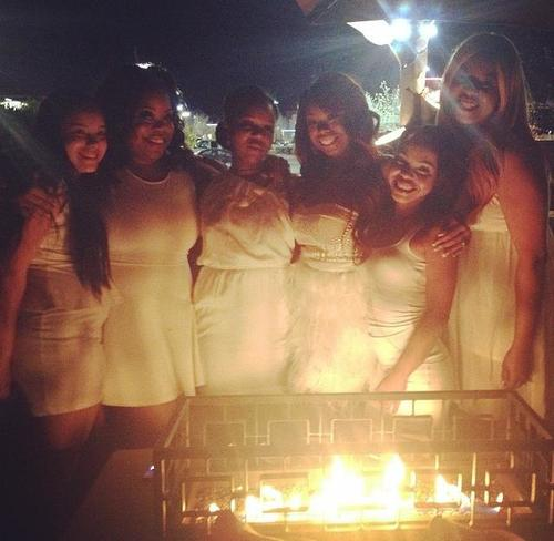 My 25th All White Birthday Party
