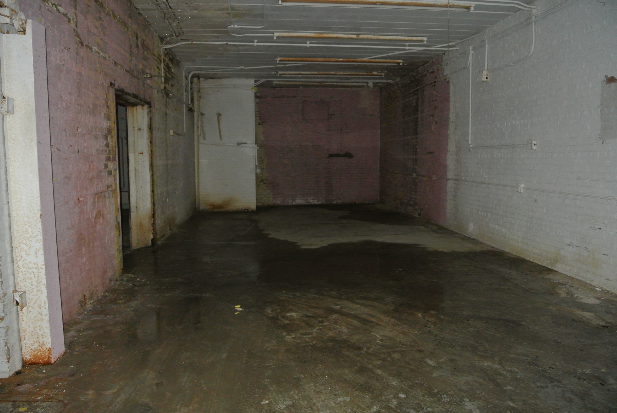 The rather wet, way back room...