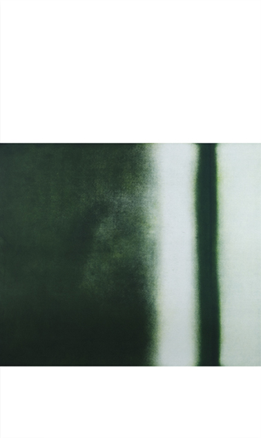 """Praying Mantis Exits the Cave Color aquatint 72"""" x 42"""" 2012"""