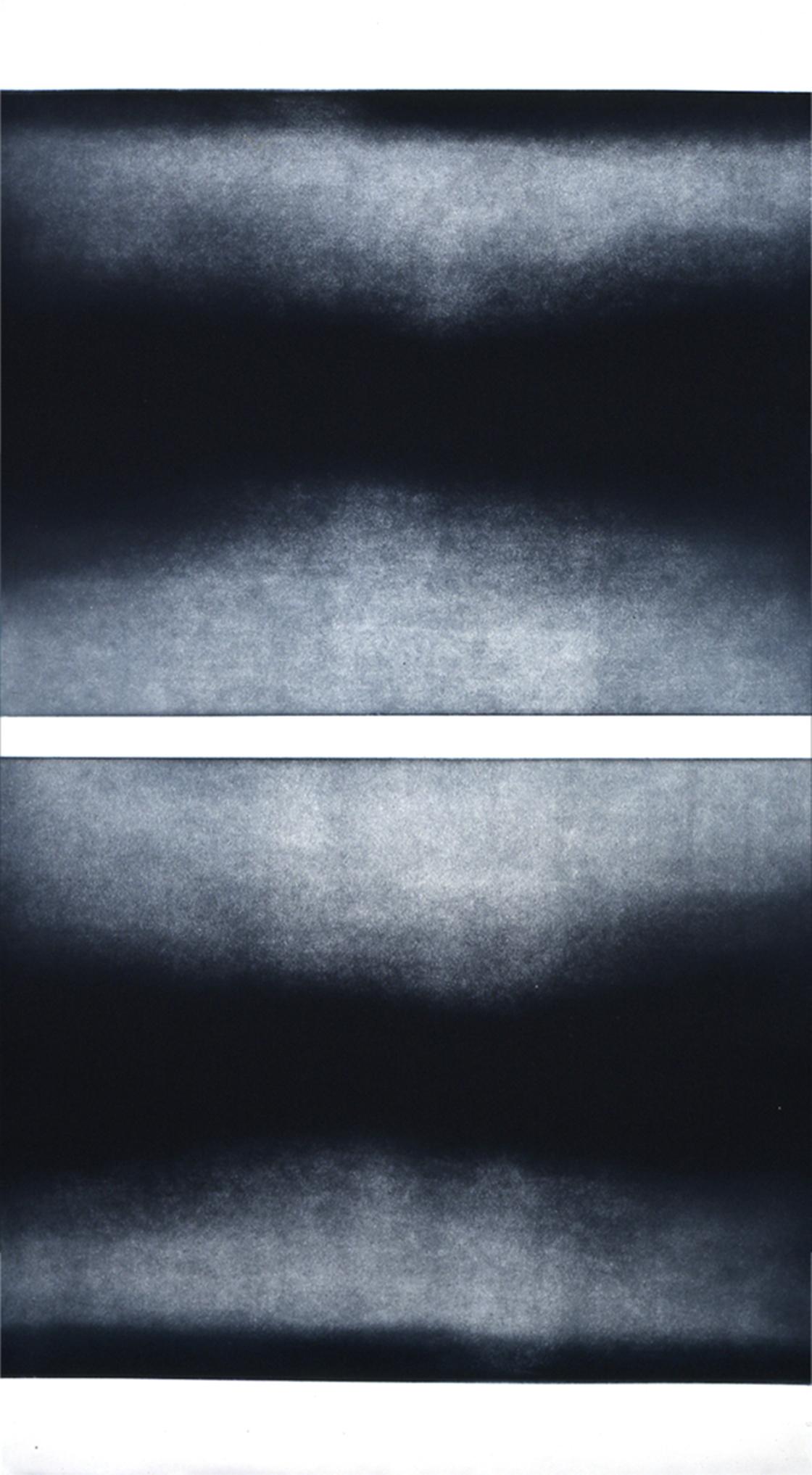 "Midnight Highway Color aquatint 24"" x 42"" 2005"