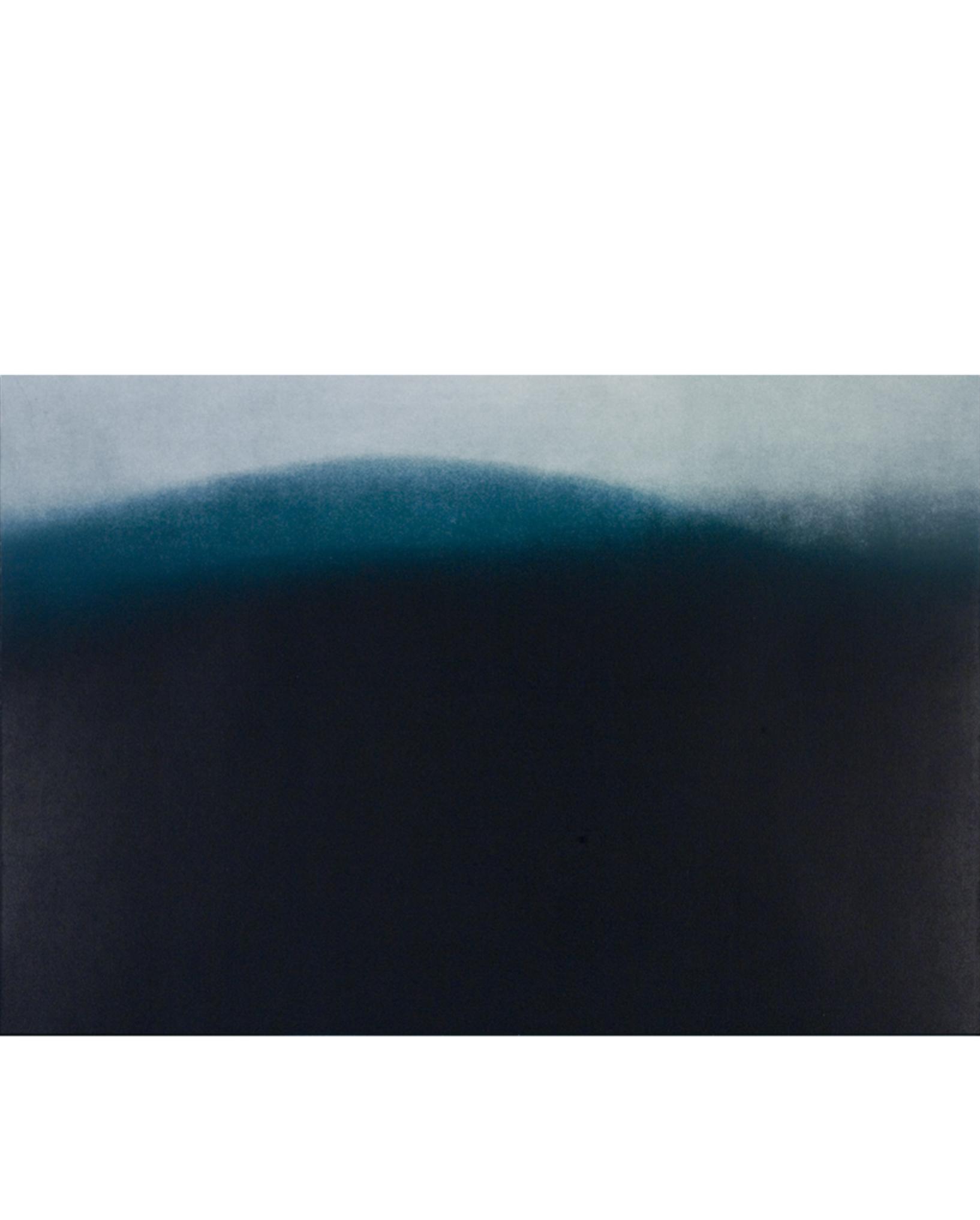 """Riding the Line (006) Color aquatint 42"""" x 35"""" 2006"""
