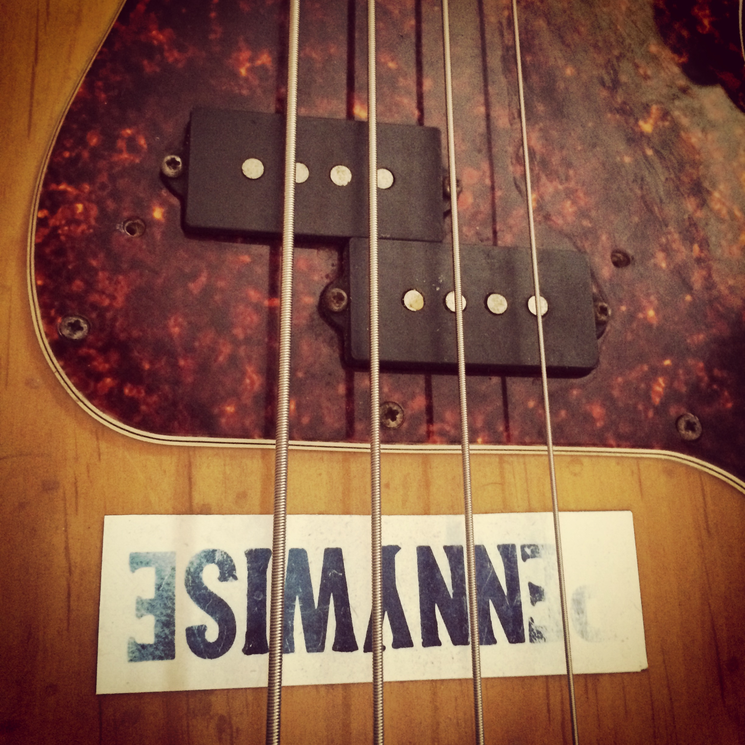 The legendary Vintage 1977 bass