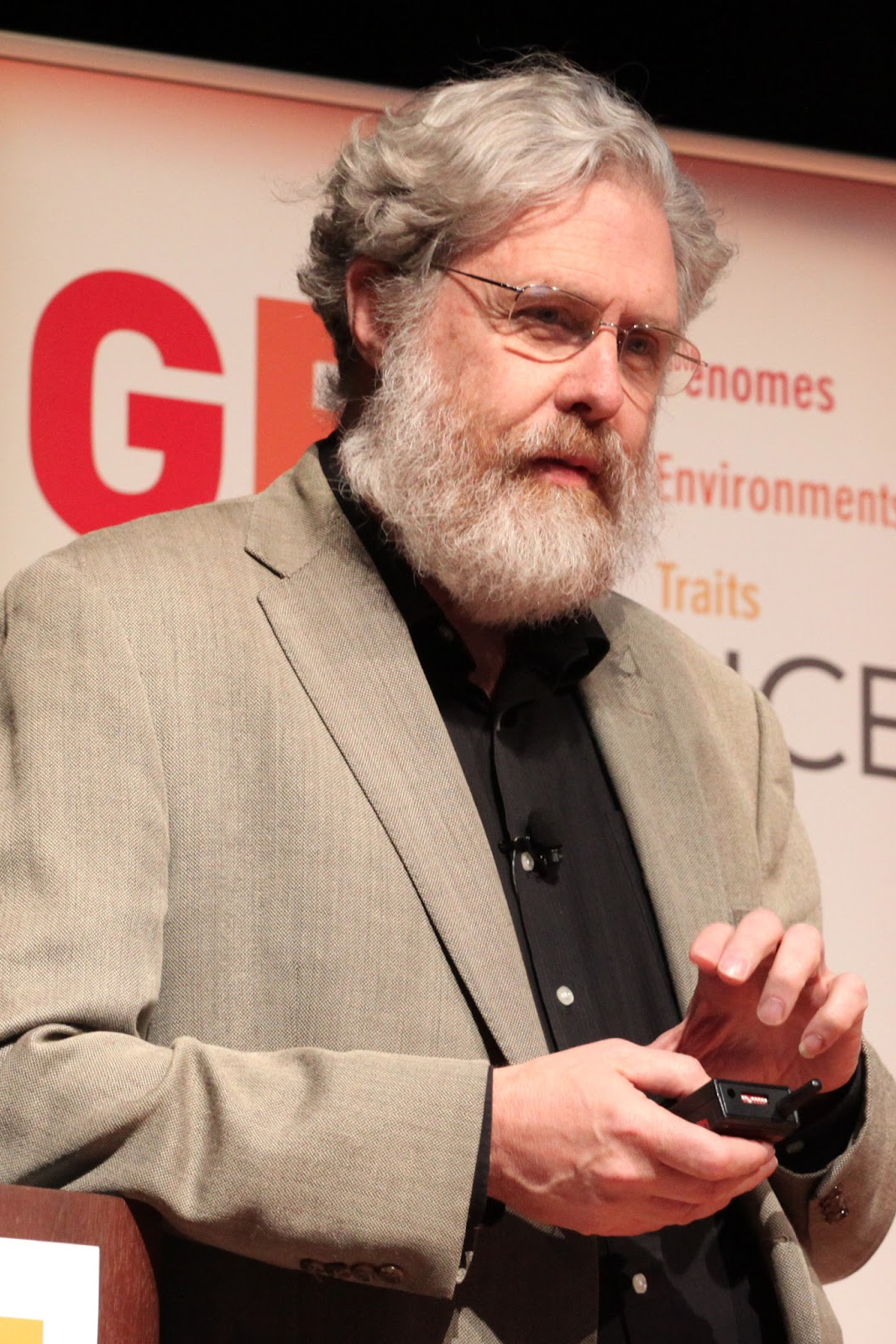 """Gene Sequencing"" George Church"