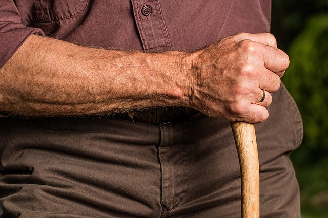 Chronic inflammation leads to age-related frailty