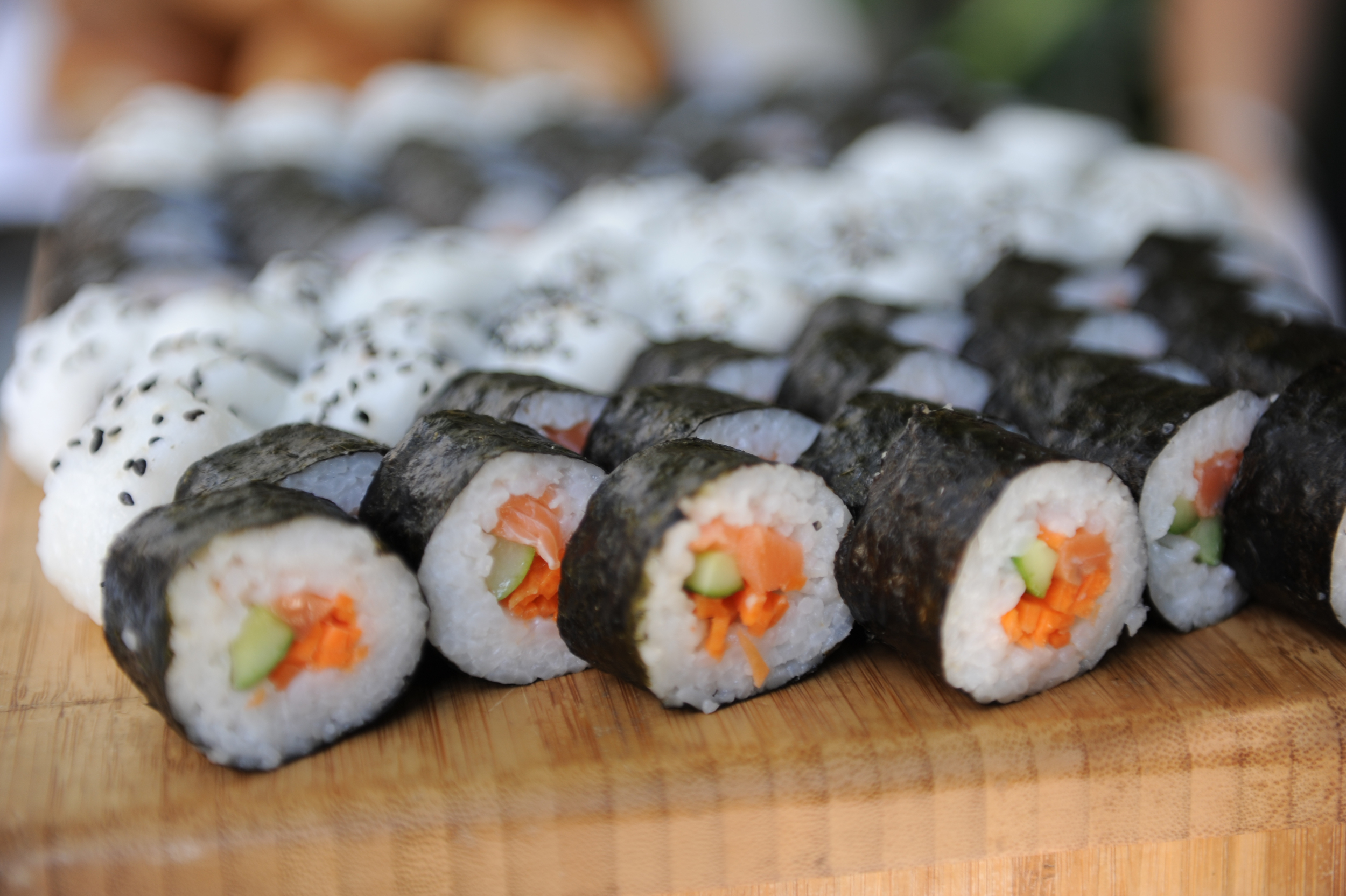 The study astonishingly found some people's blood sugar level rose more from sushi than icecream