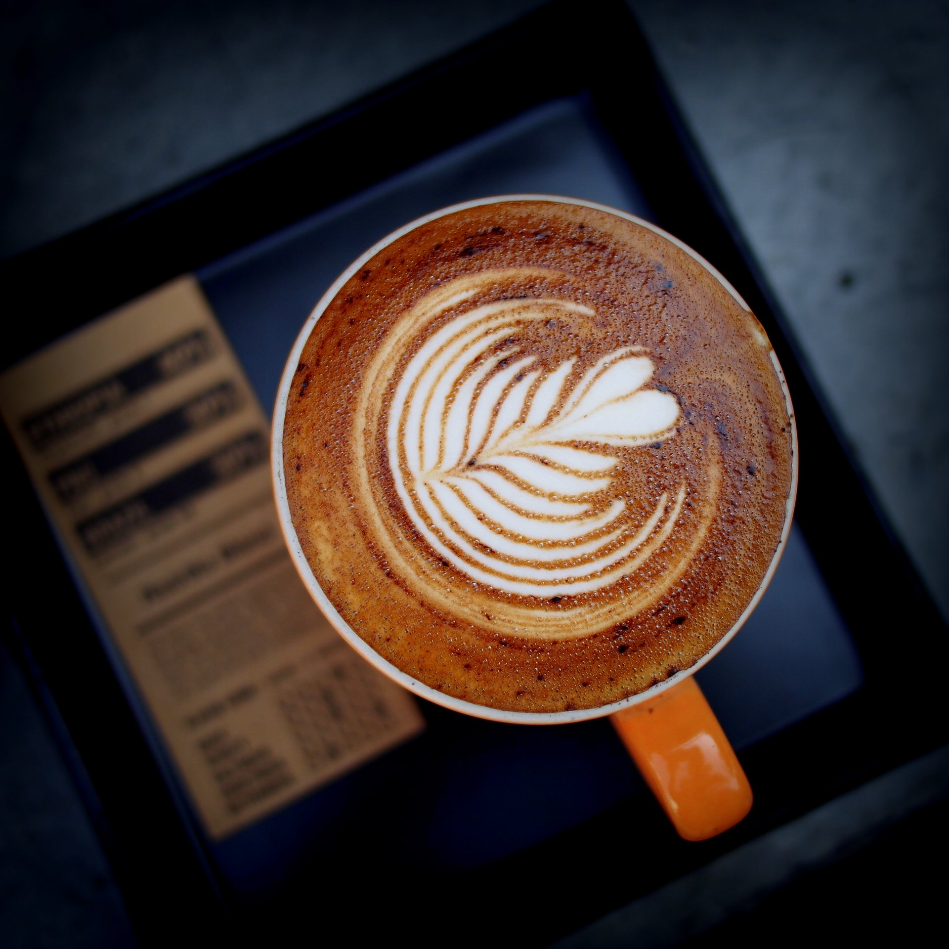 The data refers to coffee bean consumption, but doesn't give the go ahead to sweet, rich coffees like lattes