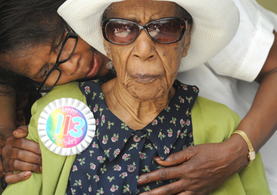 Susannah Mushatt Jones, also 116, is currently the oldest verified person in the world