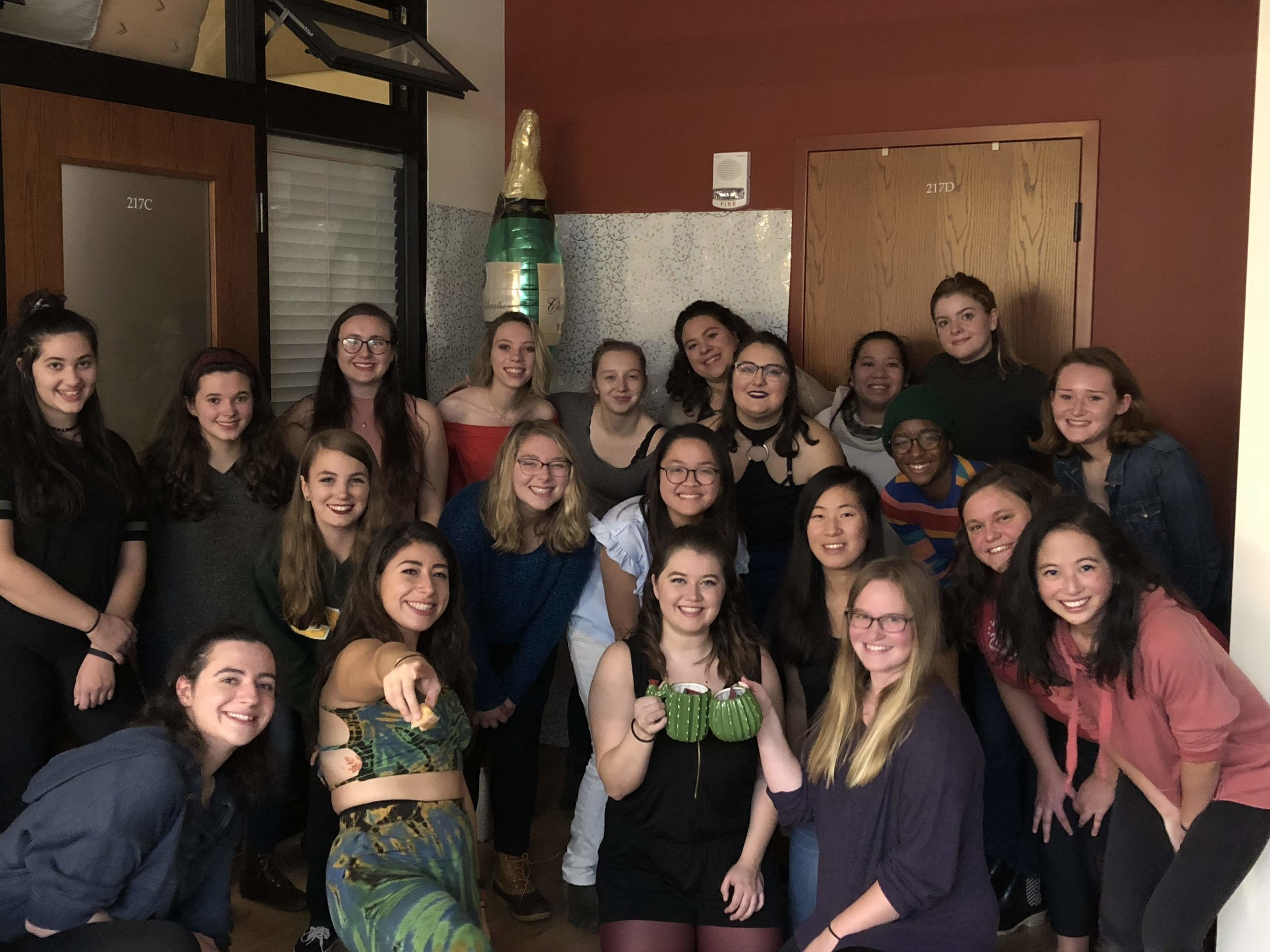 EKOs compete in pairs at a sisters only event!